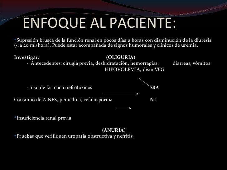 Anamnesis y examen físico:      Deberá estar orientado teniendo en cuenta el        diagnostico de las patologías involuc...