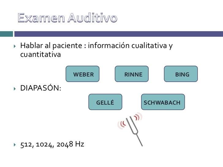 Anatomia, fisiologia y exploracion del oido