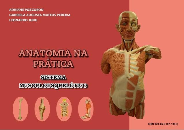ANATOMIA NA PRÁTICA SISTEMA MUSCULOESQUELÉTICO ADRIANE POZZOBON GABRIELA AUGUSTA MATEUS PEREIRA LEONARDO JUNG ISBN 978-85-...