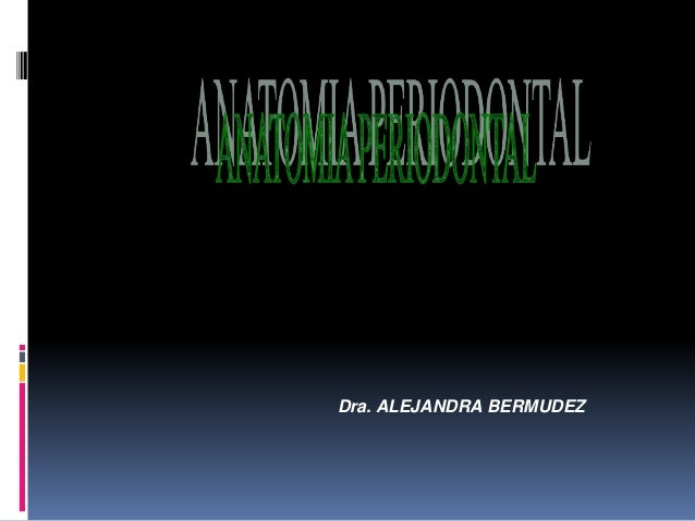 Dra. ALEJANDRA BERMUDEZ