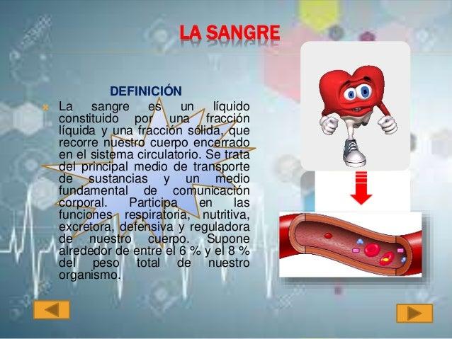 Anatomia y fisiologia de la sangre