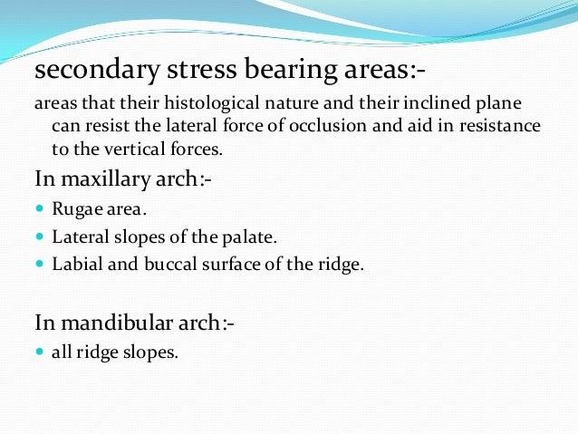 In mandibular arch: Genial tubercle  Sharp mylohyoid ridge  Crest of a knife edge ridge  Mental foramen  Sharp bony p...
