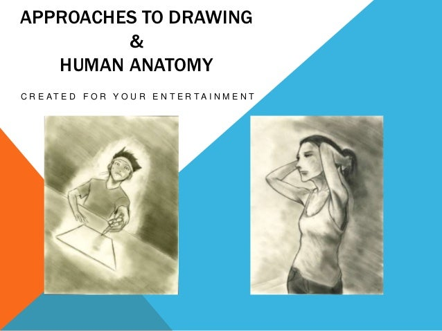 APPROACHES TO DRAWING         &   HUMAN ANATOMYC R E AT E D F O R Y O U R E N T E R TA I N M E N T