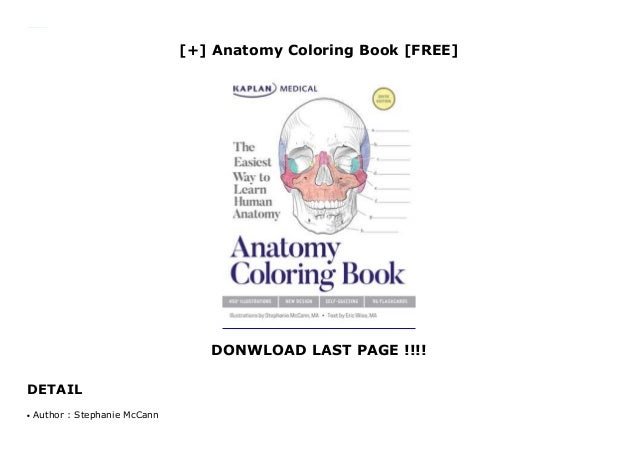 - Anatomy Coloring Book [FREE]