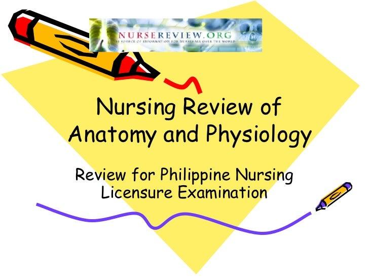 Anatomy Physiology Slides