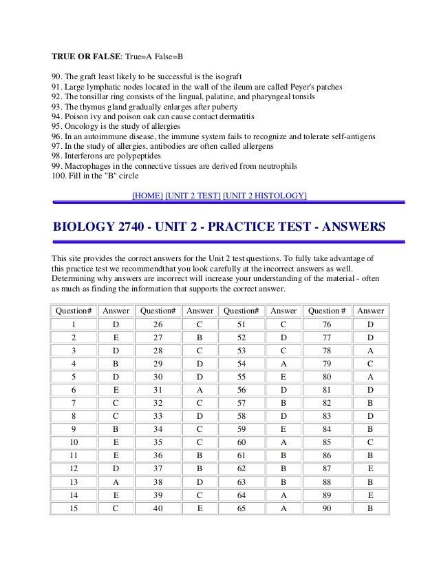 Nice Anatomy And Physiology 1 Practice Test Mold - Human Anatomy ...