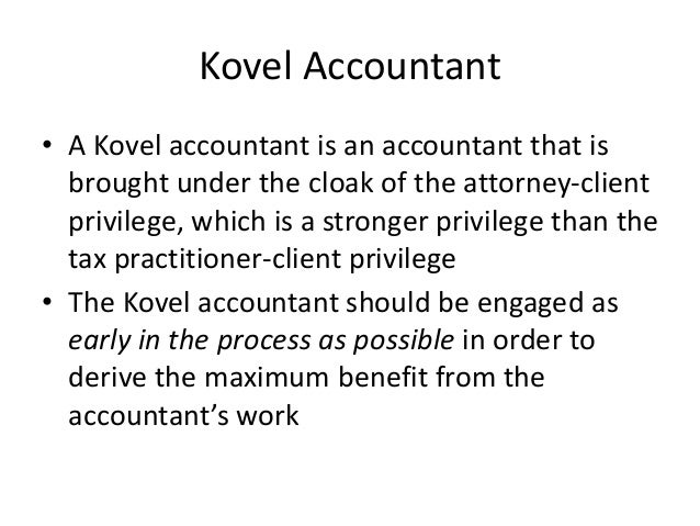 Anatomy Of A Civil Tax Controversy