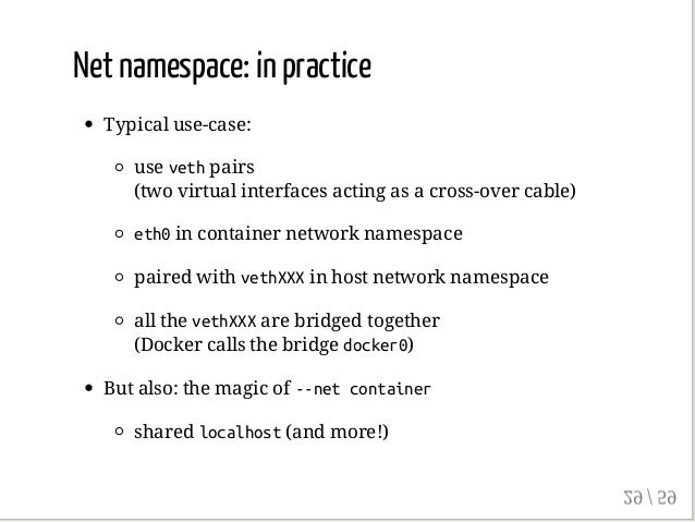 Anatomy of a Container: Namespaces, cgroups & Some