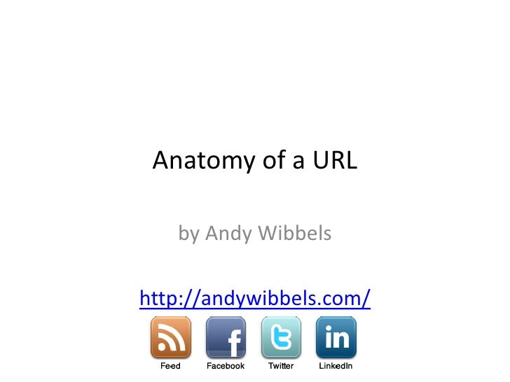 Anatomy Of A Domain Name and URL