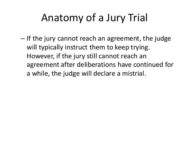 anatomy of a jury Anatomy of a jury has 40 ratings and 1 review ardi said: this book was surprisingly entertaining the author does an excellent job of conveying facts an.