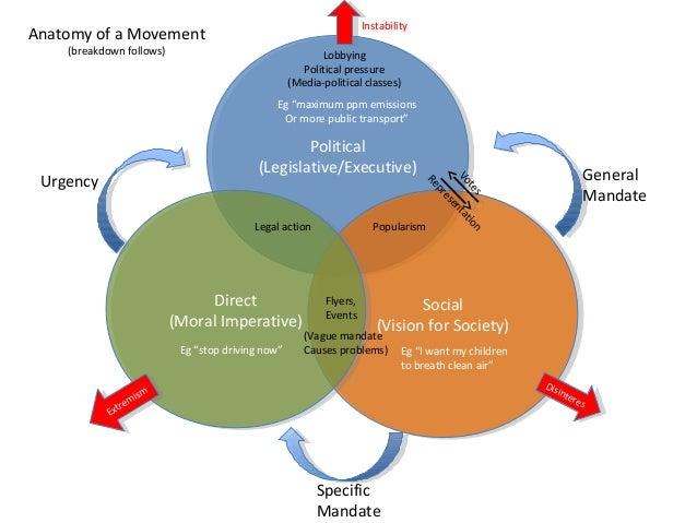 Anatomy of a Movement (breakdown follows) Political (Legislative/Executive) Political (Legislative/Executive) Social (Visi...