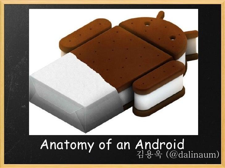 Anatomy of an Android             김용욱 (@dalinaum)