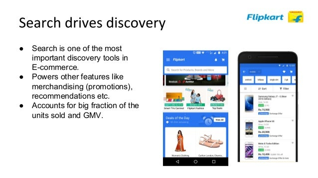 ● E-commerce search != websearch. ● Documents have a structure to them ● Queries have an implicit structure ● Challenges: ...