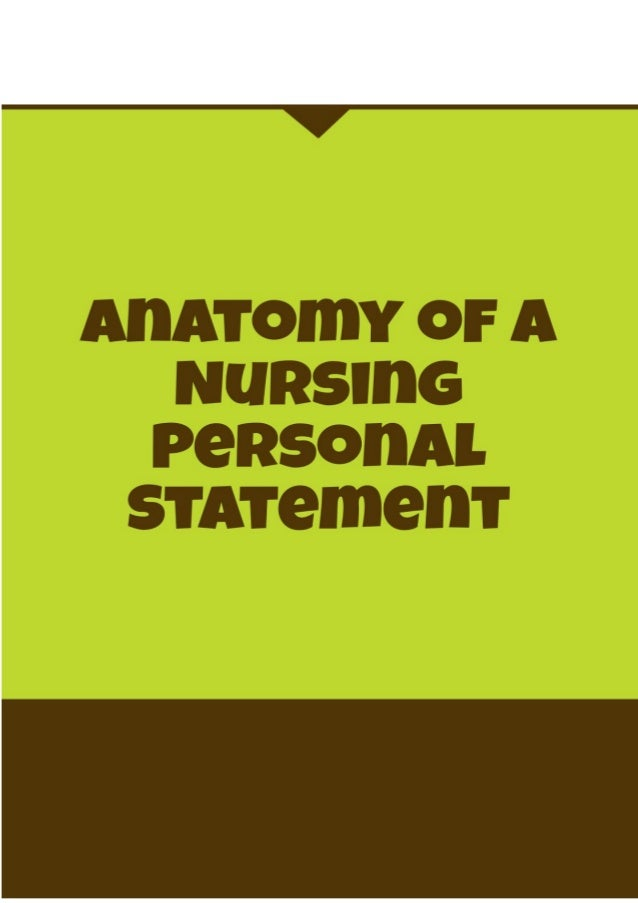 how to start a personal statement for nursing