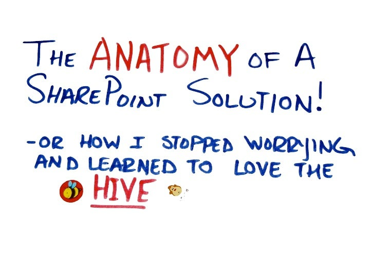 So what is a SharePoint       Solution?