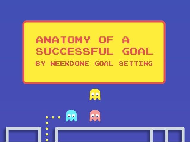 Anatomy of a Successful Goal By Weekdone goal setting