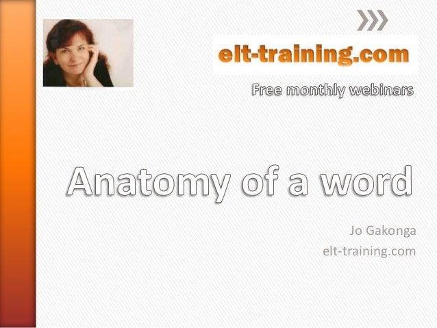 Jo Gakongaelt-training.com