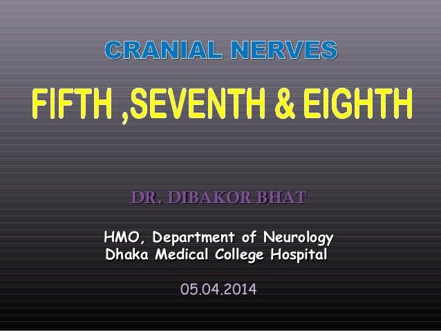 DR. DIBAKOR BHATDR. DIBAKOR BHAT HMO, Department of NeurologyHMO, Department of Neurology Dhaka Medical College HospitalDh...