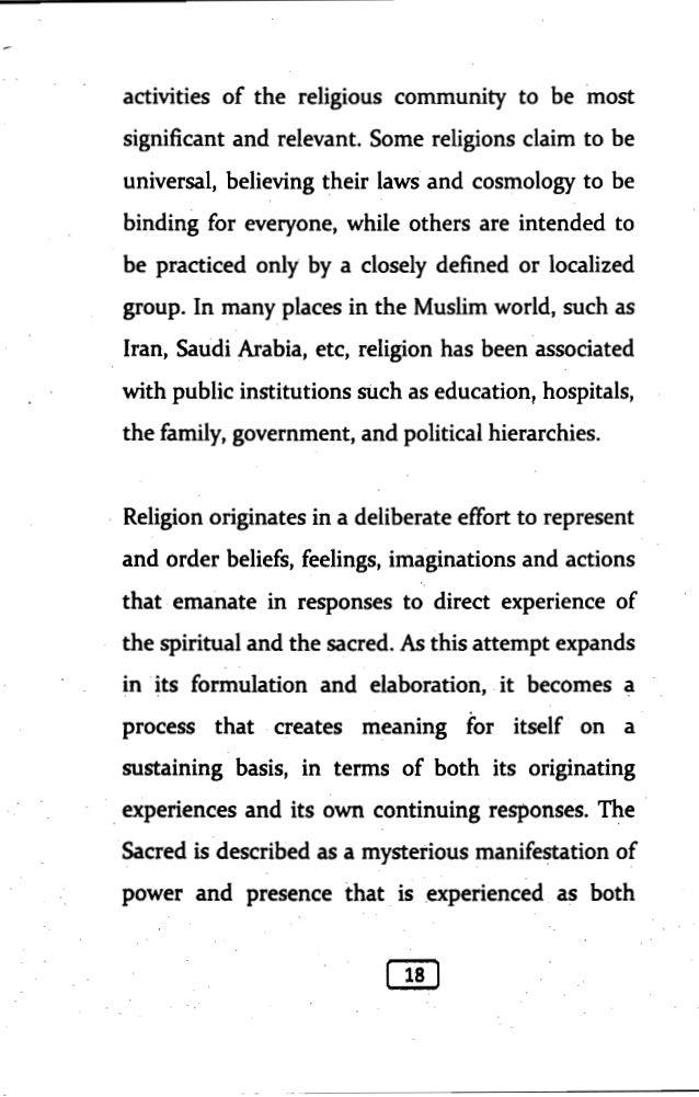 Anatomy of religious violence