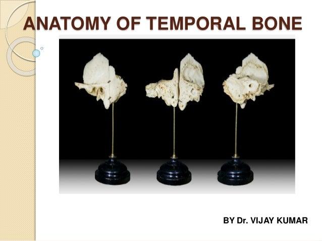 ANATOMY OF TEMPORAL BONE BY Dr. VIJAY KUMAR