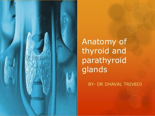 Anatomy of thyroid and parathyroid glands BY- DR DHAVAL TRIVEDI