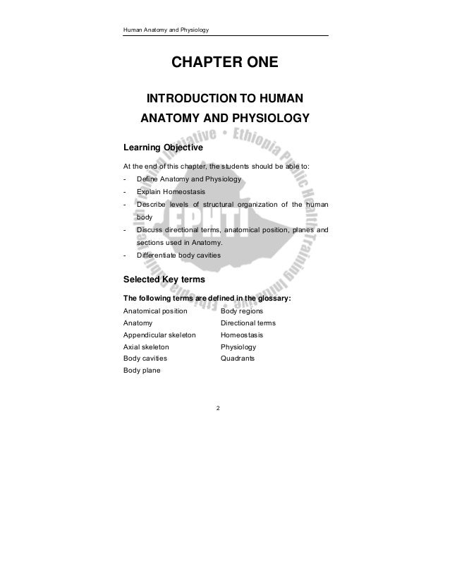 12 Human Anatomy And Physiology 2 CHAPTER