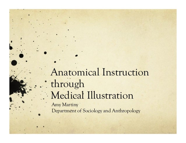 Anatomical Instruction through Medical Illustration Amy Martiny Department of Sociology and Anthropology