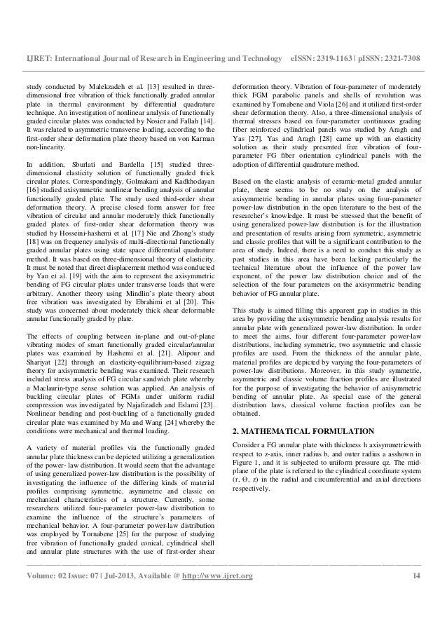 first order shear deformation theory pdf
