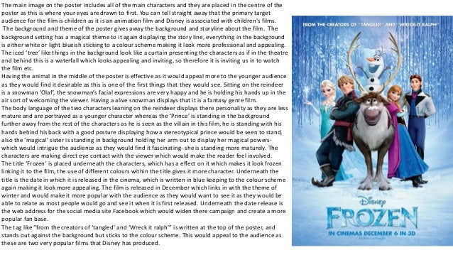 movie analysis frozen The film subverts the traditional fairytale portrayal of love and renews the theme with a profound understanding in case you missed the first warning, the rest of the article contains spoilers for the movie 'frozen'.