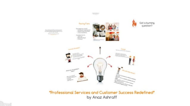 Professional Services and Customer Success Redefined