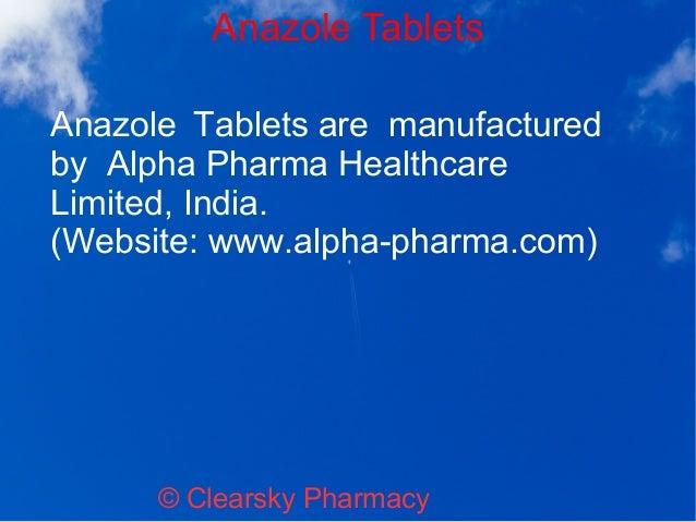 Anazole 1 mg brand