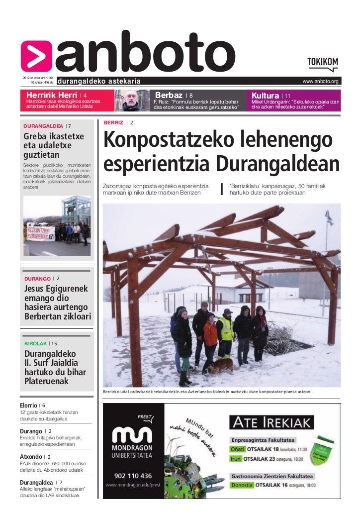 2012ko otsailaren 10a   Herririk Herri                       anboto     10. urtea - 446 zk.   durangaldeko astekaria      ...