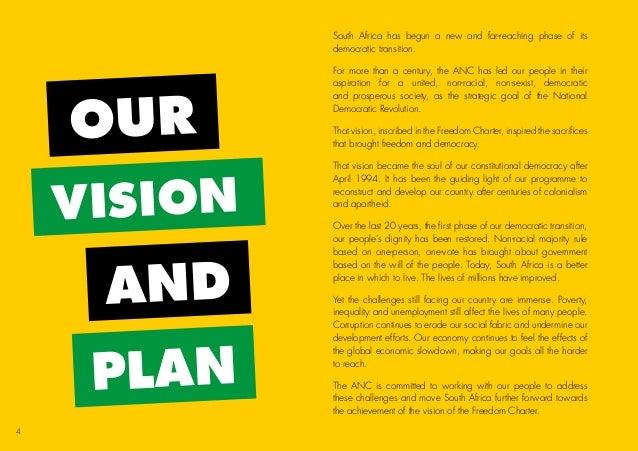 Manifesto Image: Anc 2014 Election Manifesto