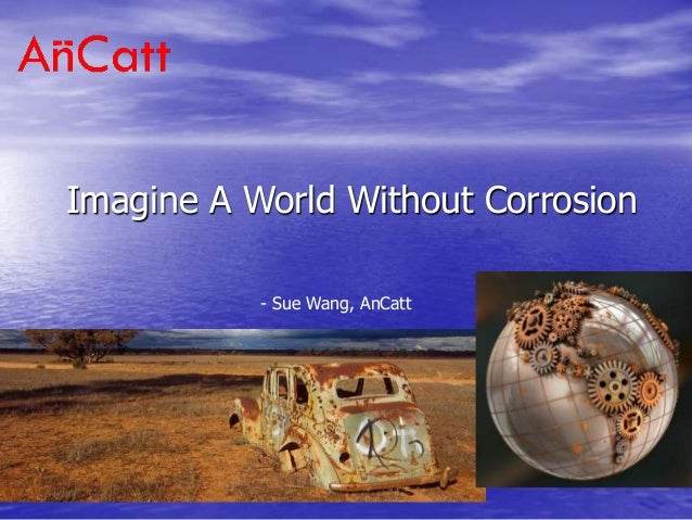 Imagine A World Without Corrosion - Sue Wang, AnCatt