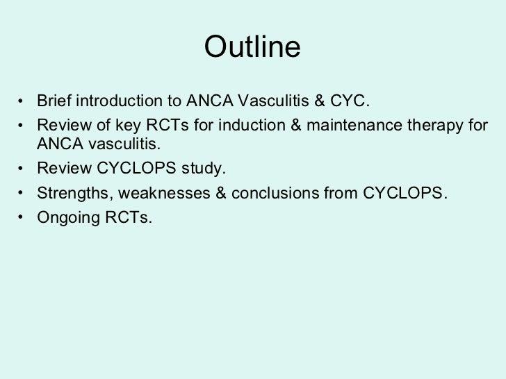 Vasculitic neuropathy cytoxan