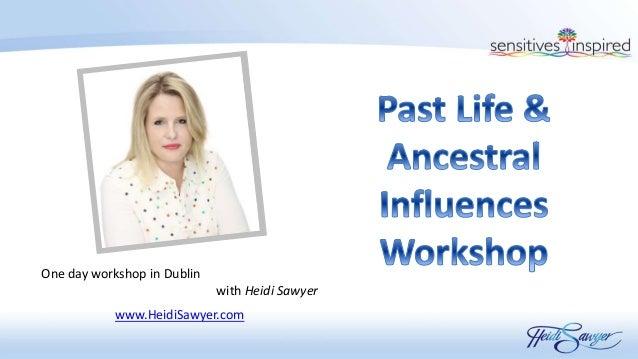 One day workshop in Dublin with Heidi Sawyer www.HeidiSawyer.com