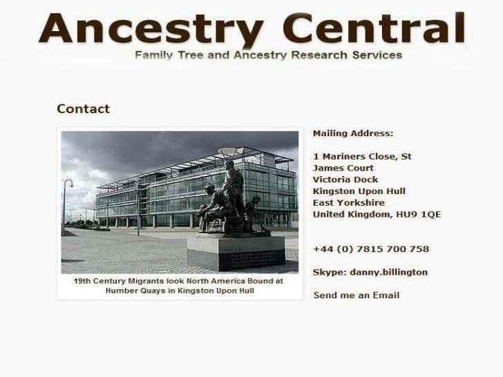Ancestry Central 1