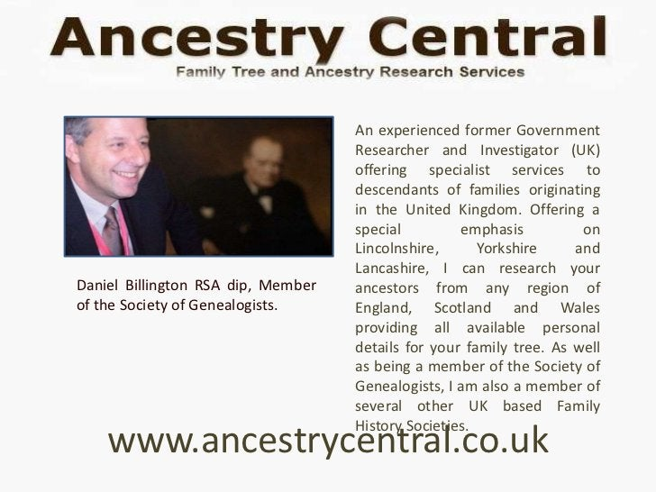 An experienced former Government                                    Researcher and Investigator (UK)                      ...