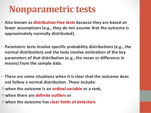parametric and nonparametric statistics 2018-07-17  non parametric test - free download as word doc (doc / docx), pdf file (pdf), text file (txt) or read online for free.