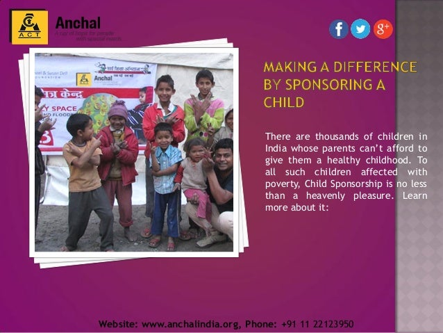 There are thousands of children in India whose parents can't afford to give them a healthy childhood. To all such children...