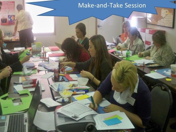 Make-and-Take Session
