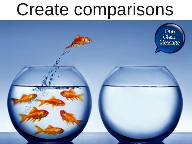 Create comparisons