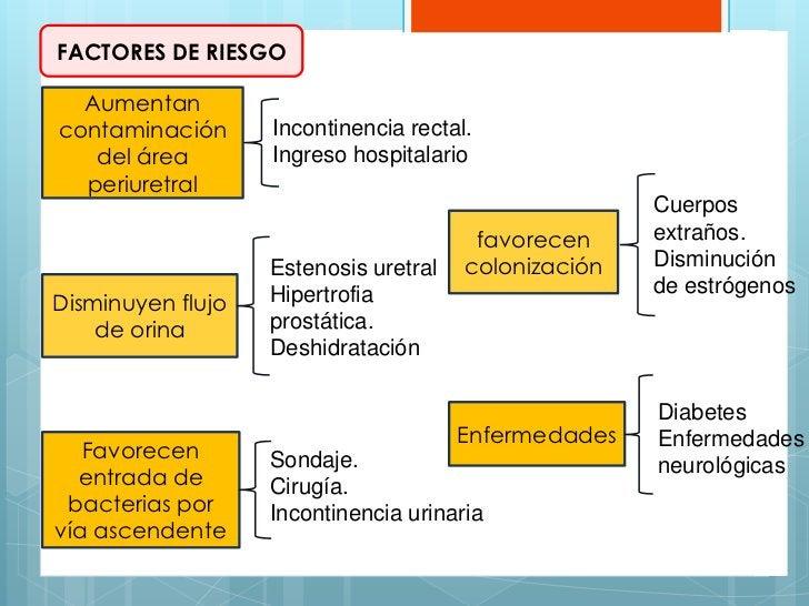 FACTORES DE RIESGO  Aumentancontaminación      Incontinencia rectal.   del área        Ingreso hospitalario  periuretral  ...
