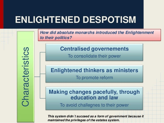enlightened despot definition