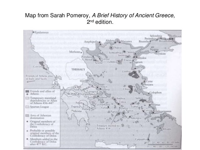 Ancient greece lectures by dr lizabeth johnson the university of n map from sarah pomeroy a brief history of ancient greece gumiabroncs Image collections
