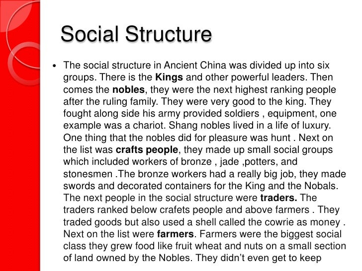 China Social Structure