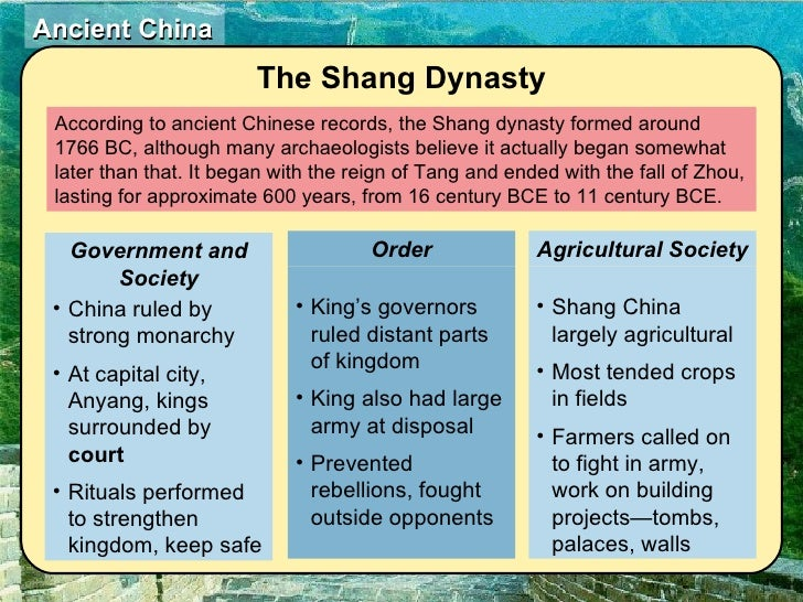 comparison and contrast between early china Dynastic china and egypt: a comparison essaysthere are many ancient  civilizations  the societies of dynastic egypt and china also had some  similarities.