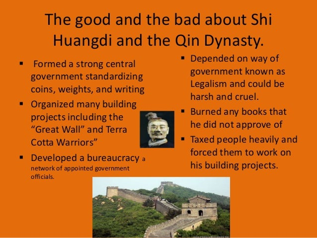 Ancient china powerpoint voc 7 the good and the bad about shi huangdi and the qin sciox Gallery