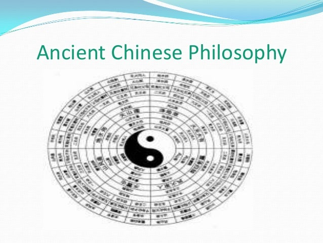 philosophical outlook of ancient china Confucianism, taoism and buddhism are the three major religions in china, although it is true to say that confucianism is a school of philosophy rather than a religion.