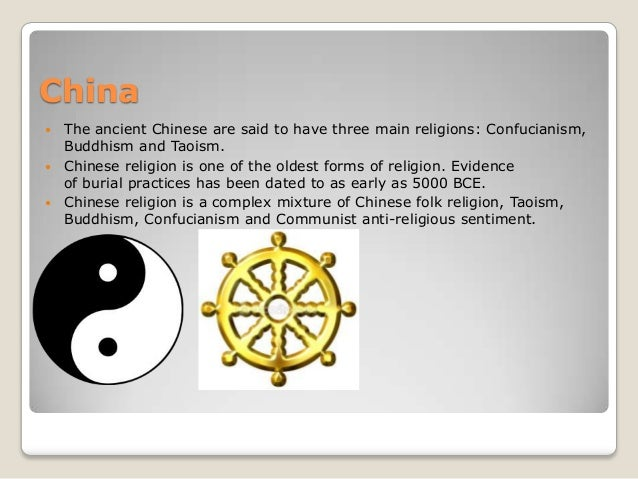 Ancient Civilizations Religion - The main religions